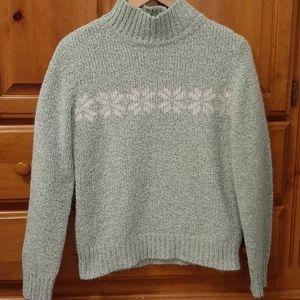 Super Soft Chenille Snowflake Sweater